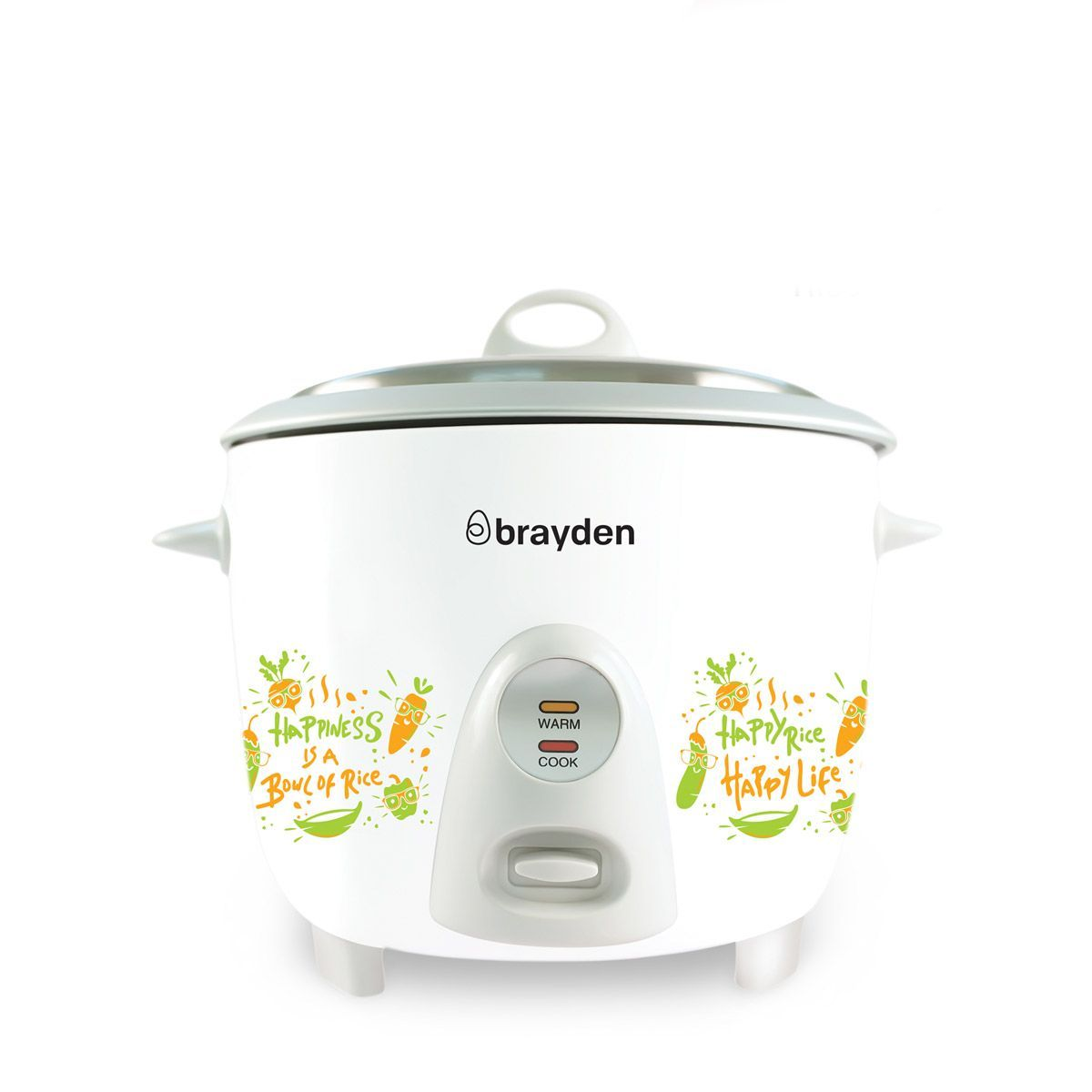 Brayden Rizo - 1.8L Electric Rice Cooker(Ivory White)