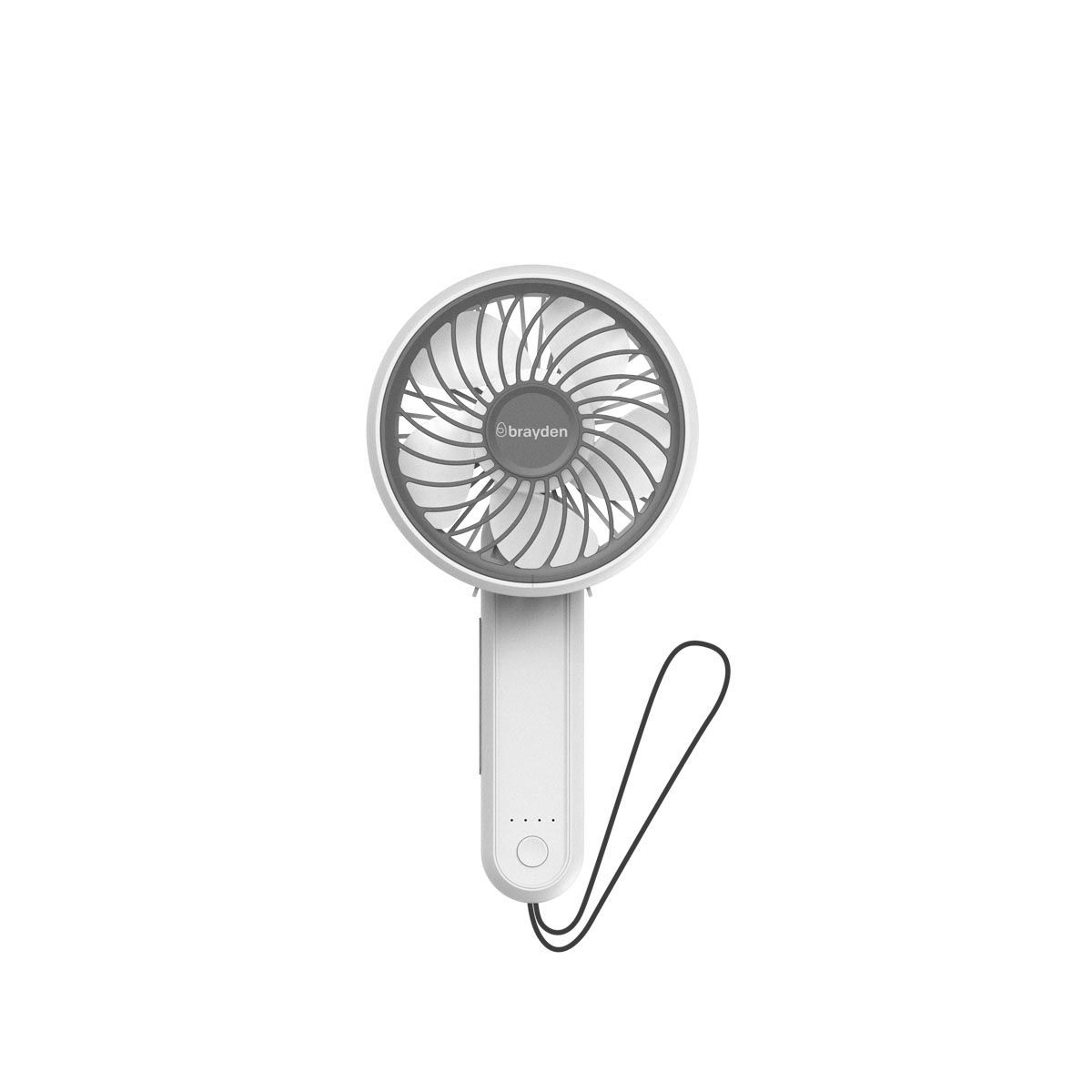 Brayden Airo F20 - Rechargeable Foldable Fan(White)