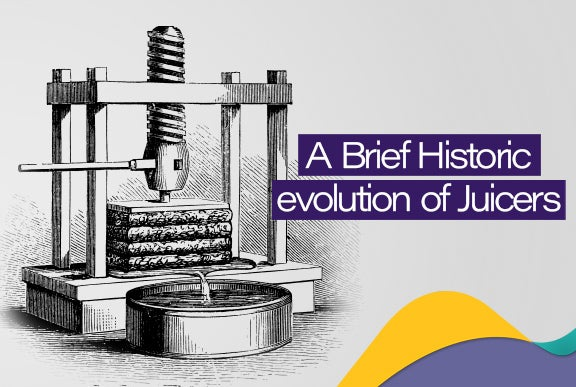 A Brief Historic evolution of juicers