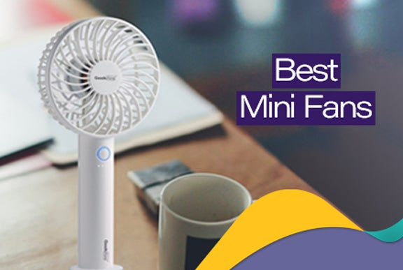 Top 10 Featured Mini Fans In India