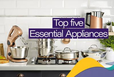 Top Five Essential Appliances Every Kitchen Should Have In 2020