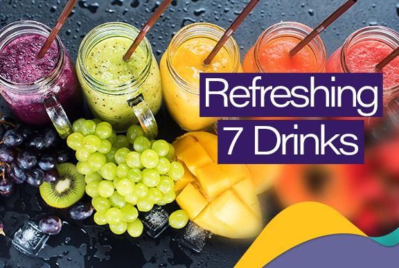Top 7 Refreshing drinks using Rechargeable Blenders for Summer 2020